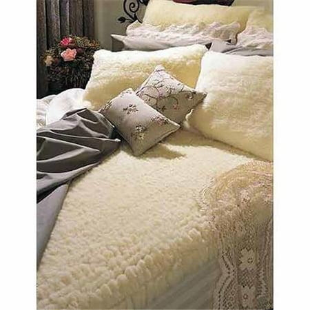 Snugfleece Wool Mattress Pad Covers - snugfleece woolens 1013 original wool mattress pad - queen
