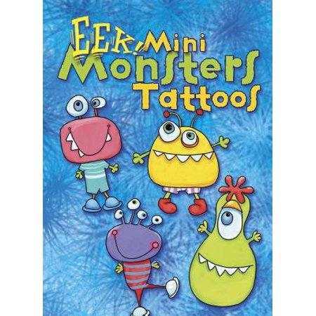 EEK! Mini Monsters Tattoos (Monster Tattoo)