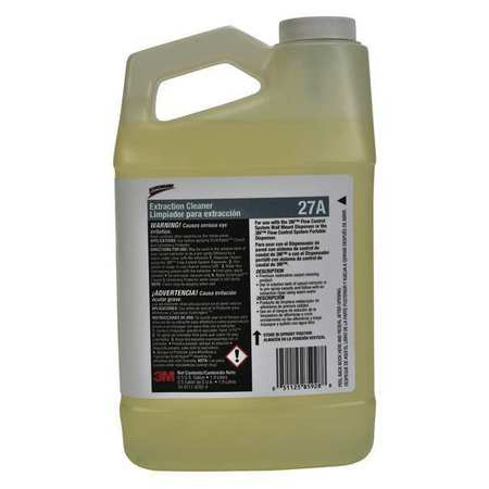 SCOTCHGARD 27A Carpet Extraction Cleaner,Clear,0.5 gal. G6212020