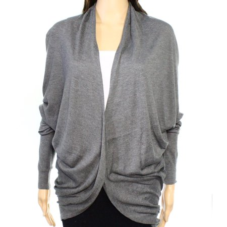 Lauren Ralph Lauren NEW Gray Womens Size XL Drape Cardigan -