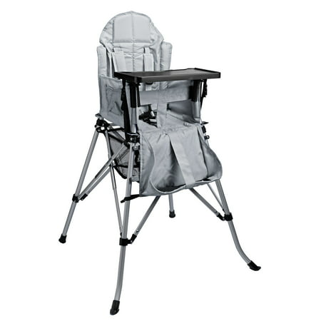 - One2Stay Gray Recline Infant & Baby High Chair