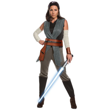 Star Wars Episode VIII - The Last Jedi Deluxe Women's Rey Costume (Quality Star Wars Costumes)