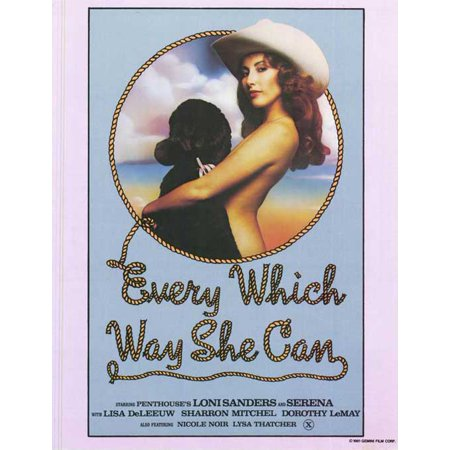 Every Which Way She Can POSTER (27x40) (1981) - Halloween Whish