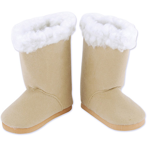 Springfield Collection Sherpa Trim Boots