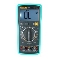 Multi-functional Handheld LCD Digital NCV True RMS Multimeter DC/AC Voltage Current Meter Capacitance Resistance Diode Tester