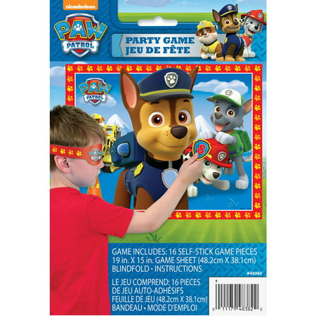 PAW Patrol Party Game, 16 Players, 18pcs](Winter Party Games)