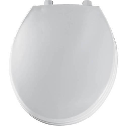 Bemis 760t Hospitality Plastic Round Toilet Seat White Walmart