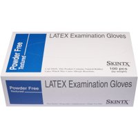 Skintx 90000 Powder-Free Latex Exam Gloves - X Small - Case of 1000