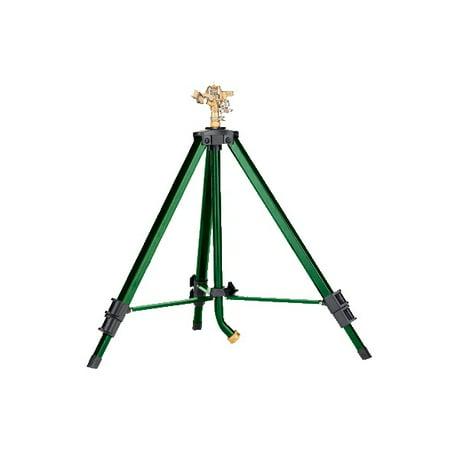 Orbit Heavy Duty Brass Lawn Impact Sprinkler on Tripod Base, Water Yard - 58308N ()