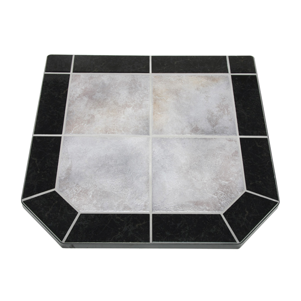 "Night Shadows Tile Double Cut Stove Board, 40"" X 40"""