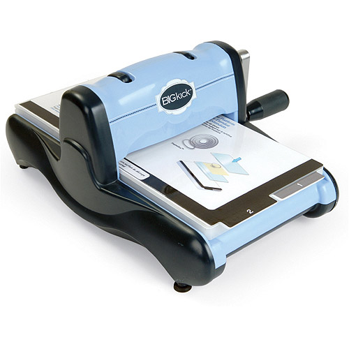 Sizzix BIGkick Machine with Multipurpose Platform, Periwinkle