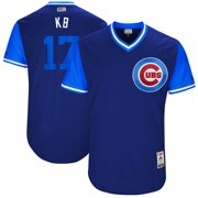 """Kris Bryant """"KB"""" Chicago Cubs Majestic 2017 Little League World Series Authentic Players Weekend Classic Jersey -"""