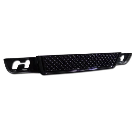 Lower Mesh Grill (RL Concepts BLACK MESH FRONT LOWER BUMPER GRILL GRILLE COVER ABS 07-12 GMC YUKON DENALI XL )