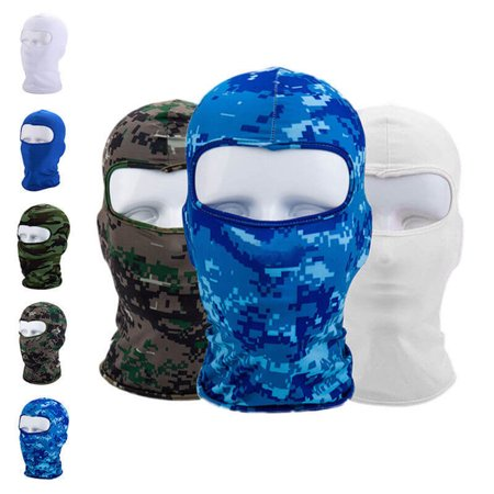 Micelec Motorcycle Cycling Winter Outdoor Sport Unisex Full Face Mask Cover Balaclava