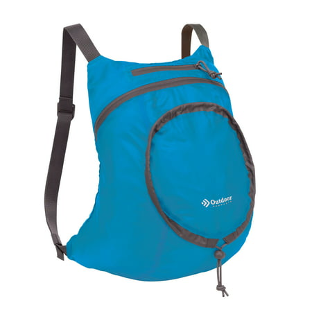 Outdoor Products Packable Backpack Daypack, Blue