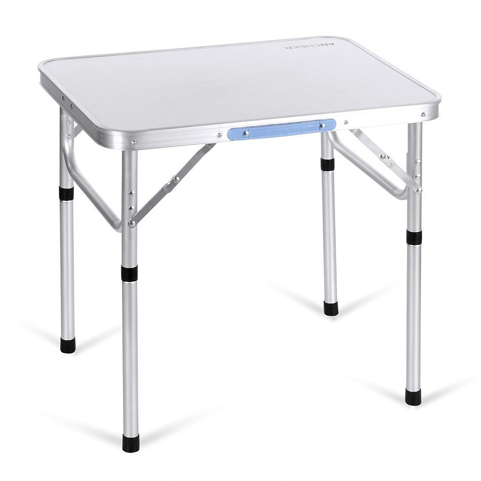 Aluminium Portable Folding Table Outdoor Camping Table Picnic Party Dining Table by