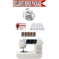Janome 3160QDC Computerized Sewing & Quilting Machine w/ Platinum Series Sewing Package