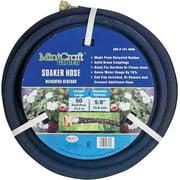 Landscapers Select Soaker Hose, 5/8 in Outside Diameter, 50 ft Length, Rubber, For Gardens or Flower Beds