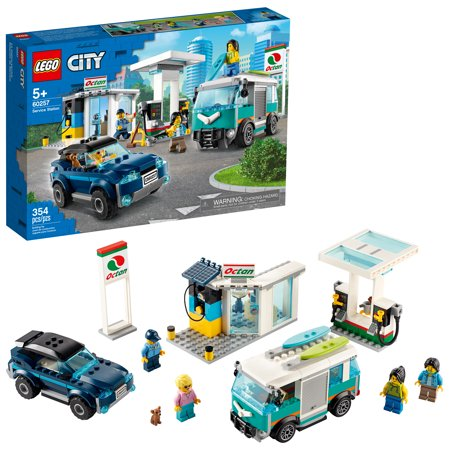 LEGO City Service Station Building Set 60257