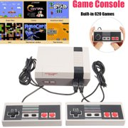 Vintage Retro TV Game Console Classic 620 Built-in Games With 2 Controllers
