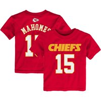 Patrick Mahomes Kansas City Chiefs Preschool Mainliner Name & Number T-Shirt - Red
