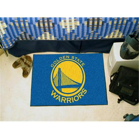 Fanmats 11907 NBA - Golden State Warriors Starter Rug 19'' x 30'' - image 3 de 3