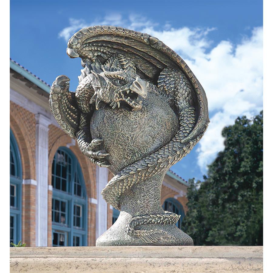 Mystic Dragon Avenger Statue