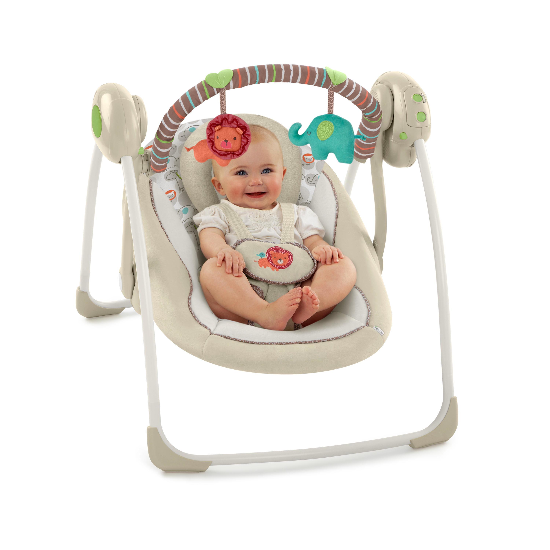 Ingenuity Portable Swing Cozy Kingdom Walmart