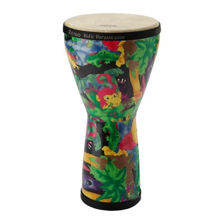 Remo Kids Rain Forest Djembe 14 X 8 Inches