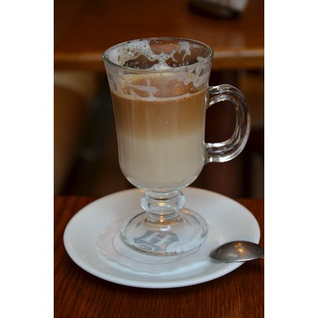Canvas Print Cafeteria Cafe Coffee Break Coffee The Drink Latte Stretched Canvas 10 x 14](Halloween Latte Drinks)