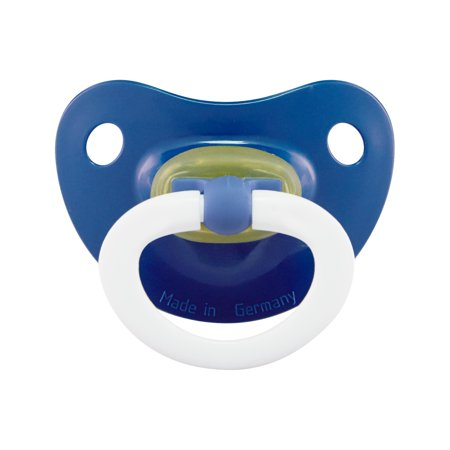 NUK Latex Orthodontic Pacifiers, Boy, 0-6 months, 2-Pack