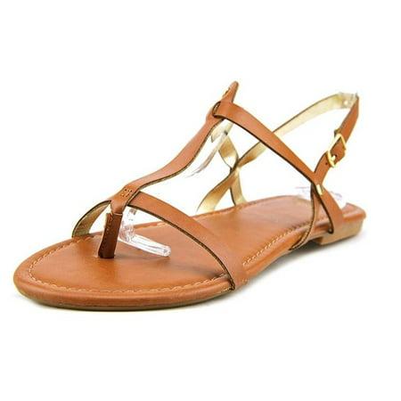 143 Girl Radko Flat Thong Sandals Cognac Size 9.5M