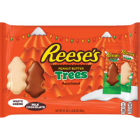 Reese's, Holiday Peanut Butter Trees Assortment Bag, 21 Oz.