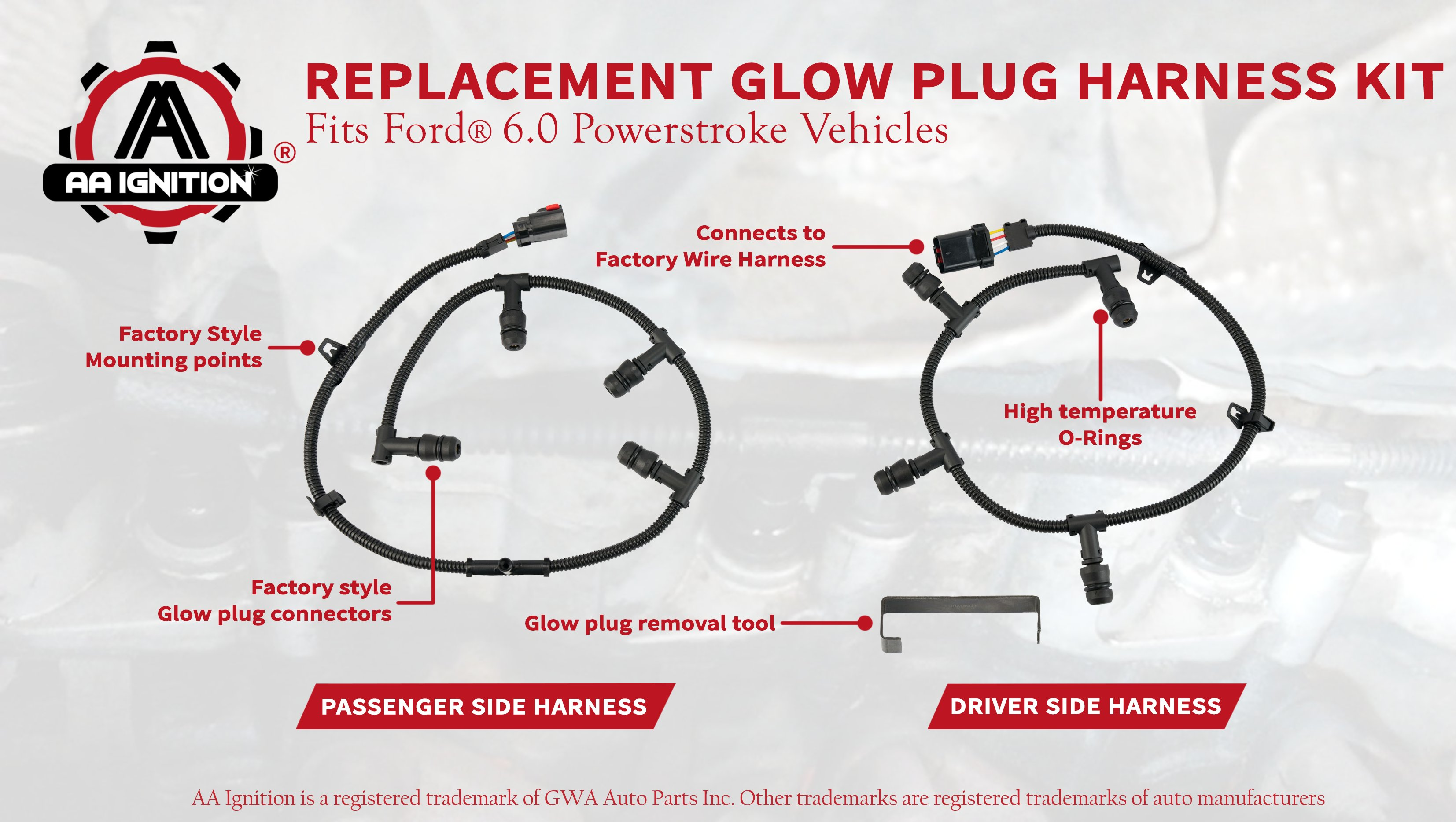 Ford 6 0 Powerstroke Wiring Harness - Wiring Diagrams F Wiring Harness on