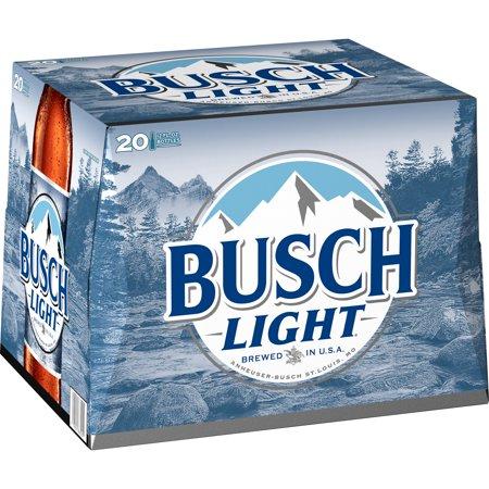 Busch Light® Beer, 20 Pack 12 fl  oz  Bottles - Walmart com