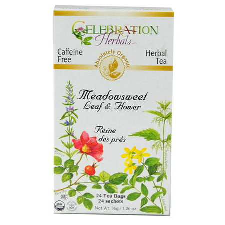 Connection Tee - Celebration Herbals Meadowsweet Organic, 24 Ct