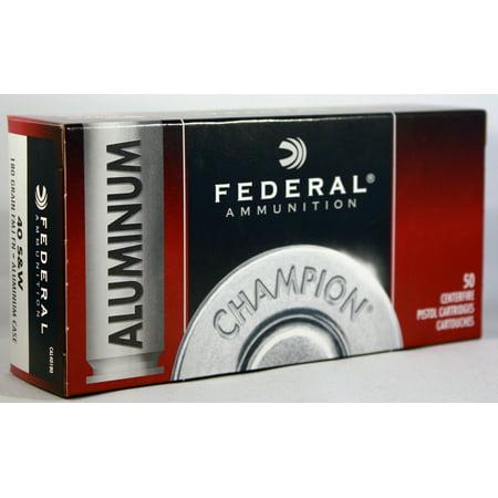 Federal Ammunition Federal Aluminum 40s&w 180gr Fmj