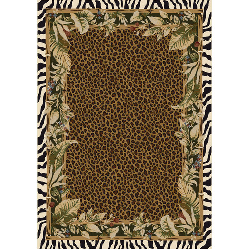 Bay Isle Home Judah Jungle Safari Emerald Area Rug