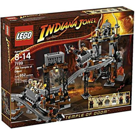 LEGO Indiana Jones Temple of Doom Set #7199 (Lego Indiana Jones Last Crusade Level 1)