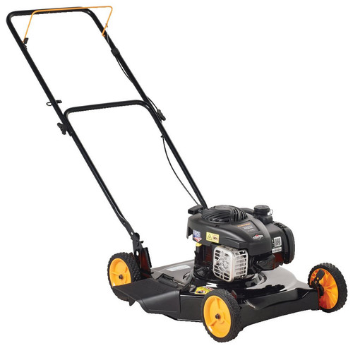 """Poulan Pro 20"""" 125cc Gas Powered, Side-Discharged Push Lawn Mower"""