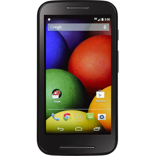 Straight Talk Moto E XT830C Prepaid Android Smartphone with Optional Accessories
