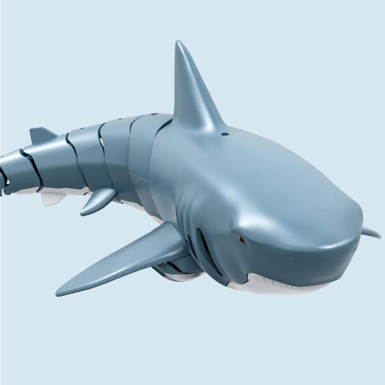 T11 2.4G Remote Control Electric Remote Control Cartoon Shark Model Toy