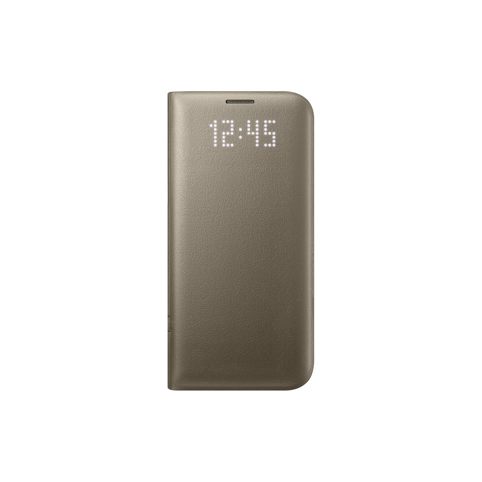 2f27e3c09e2 Samsung Galaxy S7 Edge OEM Gold LED View Cover - EF-NG935PFEGCA | Walmart  Canada