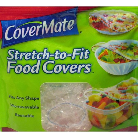 "Stretch-to-fit Food Covers Convenient Reclosable BagsBuilt-in FlexBandâ""¢ Technology - Easy To Use & Reuse - Fits Any Shape By Covermate"
