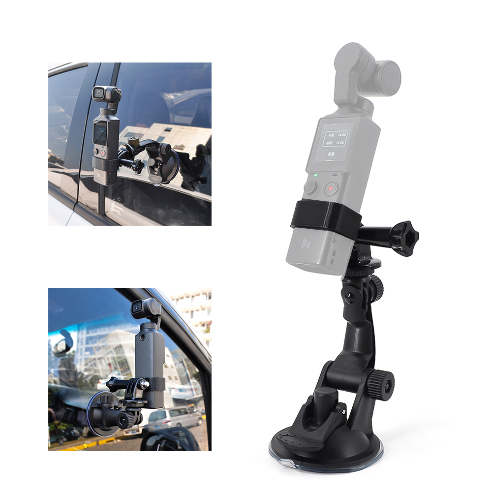 Pomya Arm Mount Adapter Multi-Function Double Ballhead with Shoe Mount and 1//4 Inch Screw for DSLR.