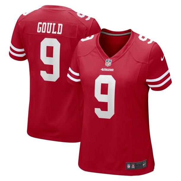 Robbie Gould San Francisco 49ers Nike Women's Game Jersey - Scarlet