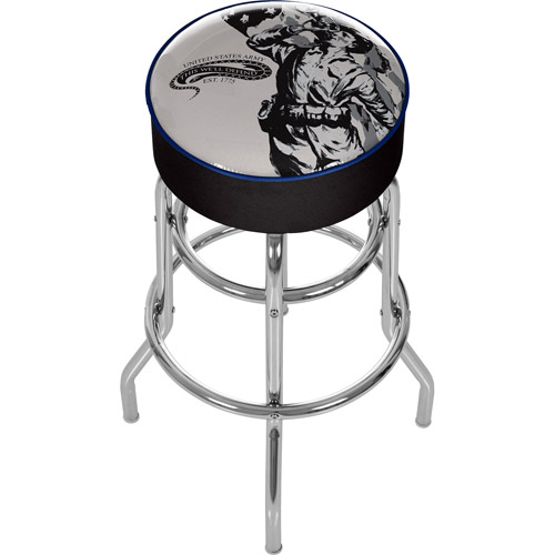 U.S. Army The Horn Calls Padded Bar Stool