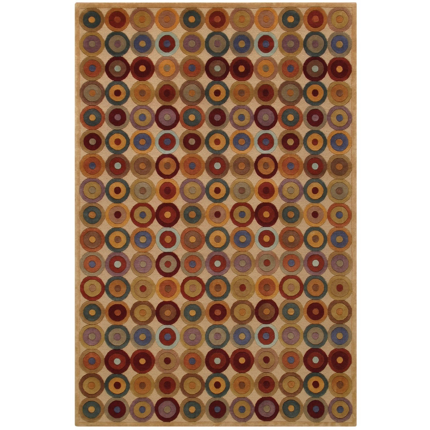 Noble House Inc. Noble House Multicolored Wool Hand-knott...