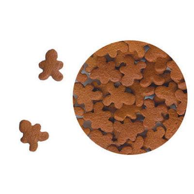 Gingerbread Man Christmas Confetti 6 oz. Sprinkles Edible Cookie Cake Cupcake Decorating