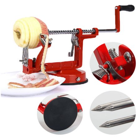 3 in 1 Apple Peeler Slinky Machine Peeler Corer Fruit Cutter Slicer Kitchen Tool by Aaron